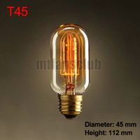 Others Others Others Wholesale-New Vintage Retro Vintage Antique Edison  Bulb Retro Incandescent Lamp Light