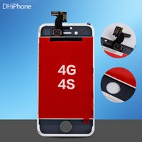 Wholesale LCD Display Touch Digitizer Complete Screen with Frame Full Assembly Replacement for iPhone G S fast shipment