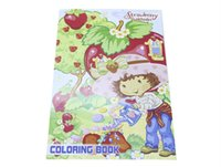 Wholesale strawberry shortcake ABC activity drawing colouring stickers book set educational interactive paper puzzle game toy