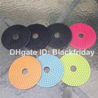 abrasive cloth - Diamond Polishing Pad inch Wet Use Granite Marble Polishing Wheel Buffing Pads Sanding Disc Nylon Cloth Abrasive Pads BST