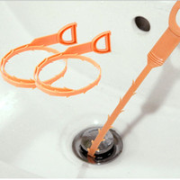 Wholesale 3pcs Hair Removal Tool Drain Dredge Pipe Sewer Cleaner Hook for Bathroom Kitchen Sink ZH465