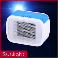 Precio de Air heater-Oficina pequeña estufa eléctrica de mini sala de portátiles Aerotermos radiador eléctrico Caliente ahorro de ahorro de electricidad soplador de aire del ventilador de la Energía