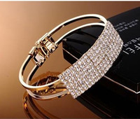 Wholesale Bracelet femme fashion luxury super flash elegant all over the sky star wristband crystal bracelets