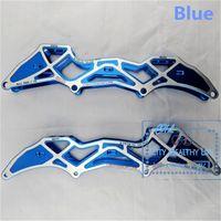 aluminium shoes - X Shape Inline Speed Skates Frame for X100mm X110mm Inline Speed Skating Shoes mm mm with Aluminium Alloy