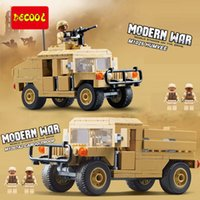 left~ - Decool Modern War Army Military Transport Carrier Series Set Building Brick Blocks Compatible With legoMinifigures and