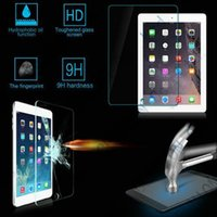 Wholesale Ipad Tempered Screen Glass H MM Film Tablet PC Protector Explosion proof for Ipad Air Air Mini Mini Mini With Retail Package