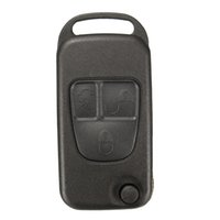 Wholesale No Batteries and Chips Button Remote Key FOB Shell Case For Mercedes Benz ML C CL S Class