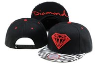 diamond supply co - cheap snapback hats and caps snapbacks for men baseball basketball fitted hat black zebra diamond supply co cap TY