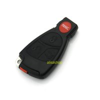 Wholesale Replacement Buttons Smart Key Case fob Case Shell With Battery Holder clip For Mercedes Benz car key shell NO LOGO