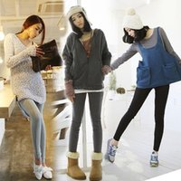 Wholesale Promotion East Knitting Warm Pants Women Winter Stretch Legging Solid Color Slim Lady Casual Leggings B22 CB031328