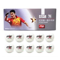 Wholesale 30x DHS Star Celluloid White Table Tennis Balls