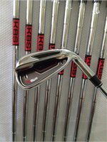 golf clubs irons set - 9pcs New Rsi1 golf irons set PAS with Kbs tour steel R flex golf clubs Rsi irons come headcover