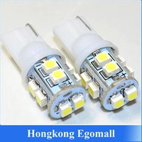 Wholesale 10pcs Car Led Light T10 W5W led SMD LED Bulb Lamp White Color