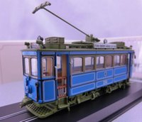Wholesale Static car models HO resin tram static model A2 RATHGEBER home decoration not a toy