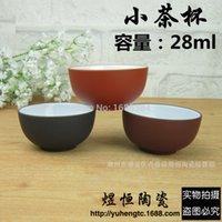 big clay pots - New arrvied teapot tea cups Authentic yixing teapot tea pot ml big capacity purple clay tea set kettle kung fu teapot