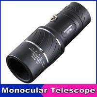 Cheap Portable Mini 16X52 High-power Ultra-clear Double Adjustable Telescope Monocular Outdoor Telescope