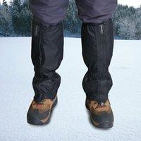 Wholesale Pair Waterproof Outdoor Hiking Walking Foot Warmer Climbing Snow Legging Gaiters Waterproof Gaiters160229