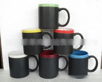 Wholesale Multi color Chalk Cups Women s Men s Couple European Fashion Chalk Mugs Valentine s Day Gift Morning Cups Boys Girls Birthday Gift M3282 BJ