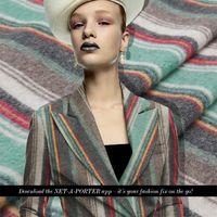 Cheap thin clothes Best stripe wool