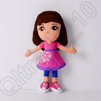 baby dora toys - 30PCS HHA691 cm Cartoon Dora Plush Baby Toy Anime Movies TV Dora The Explorer Stuffed Dolls Toys for Children Kids Birthday Gifts