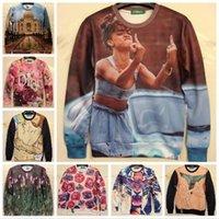 Cheap New 2015 Spring Women Men 3D Sweatshirt. Sexy Clothes. taj mahal Fuck Finger Printed Sport Hoodies Plus Size S-XL