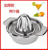 bamboo press - Special hot thick stainless steel orange juicer manually pressed lemon juice juicer juice machine baby