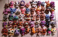 Wholesale 1506 New The head can rotate Q Pet Littlest Pet Shop LPS Animals Toy different styles