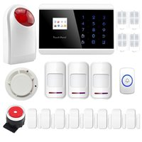 alarm siren outdoor - ANDROID IOS APP Wireless Wired GSM Alarm System Telephone Touch keypad Display Security System Outdoor Flashing Siren