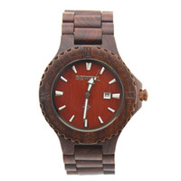 batteries suppliers - China supplier hot sale fashion popular nature Red sandalwood watch with Japan quartz movement