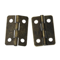 Wholesale Door Butt Hinges rotated from degrees to degrees Antique Bronze Holes mm x mm new