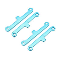 atv suspension parts - 2 Set New Upgrade Parts Blue Aluminum Suspension Arm Pad for HSP Car Buggy ATV Truck Truggy Cars order lt no track