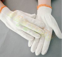 Wholesale safety work gloves g anti abrasion cotton yarn protective gloves labor protection gloves