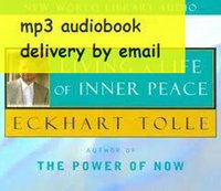 Wholesale Eckhart Tolle Living a Life of Inner Peace audiobook mp3