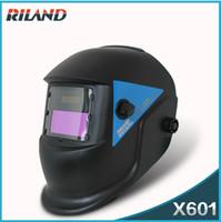 Wholesale Riland New Auto Darkening Welding Helmet X601 Welding Mask Welding Helmet