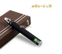 1300mAh Adjustable ego v v3 1300Mah Ego V V3 battery for e cigarette with LCD display and USB line ego vv3 passthrough battery variable voltage ego vv3