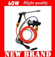 Wholesale Electric car wash device portable high pressure car washer machine watertool w pump wishing product set kit tools equipment free