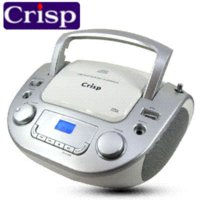 Wholesale Portable Audio new hot Korea Crisp portable CD player supports CD prenatal machine MP3 USB love and music