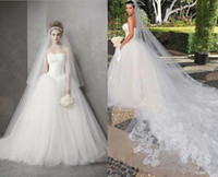 Wholesale 2017 New cheap Wedding Dress Luxury Hot Sale Actual Images Strapless Lace and Tulle Ball Gown Wedding Dresses Bridal Gowns kim kardashian