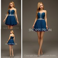 Cheap 2015 Short Prom Dress Best Crystal Party Dresses