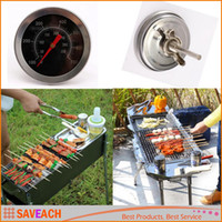 Wholesale Barbecue BBQ Grill Thermometer Temp Gauge Outdoor Camping Cook Food Tool High Quality