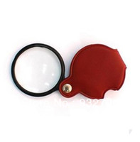 Wholesale 8X POWER THIN FOLDING POCKET MAGNIFIER MAGNIFYING quot MM GLASS LENS JEWELERS LOUPE order lt no track