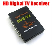 Cheap GPS Newest Mobile HD Digital TV Receiver Car USB DVB-T2 H.264 MPEG4 1080P External Auto Tuner 100Km h Digital TV Receiver Box DVB-T2