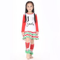 boutique clothes - Children Dress Long Sleeve Cotton Dress Boutique Clothing Cotton Different Style Christmas clothes Drop Shipping