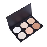 best makeup concealer for acne - 6 Color High Gloss Cosmetic Powder Trimming Powder Shadow Powder Foundation Silhouette Makeup High Quality Best Gift For Women