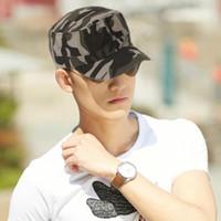 Wholesale Colors Unisex Fashionable Men Women Baseball Caps Sun Visor Army Camouflage Military Soldier Combat Hat Sport Cap