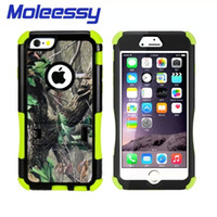 Wholesale for Iphone case stand warterproof dustproof and shockproof military imported tpu pc hybrid cell phone cases arbor painted shield covers
