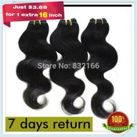weave bulk - Muse Hair Newly Peruvian Hair Body Wave Hair Weave Bundle Color b quot quot Mixed Lengths Cheap Bulk Price