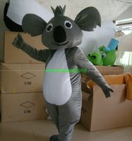 Wholesale fast Koala Mascot Costumes Adult Size for Halloween party Mascot Costumes