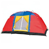 Wholesale Large Capacity Beach Folding Oxford Cloth Water proof Double Tents Outdoor Camping Travel Tents cm MA0127 salebags