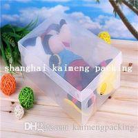 shoes box design - Customized new box design cheap decorative clear plastic PP shoe box for sale